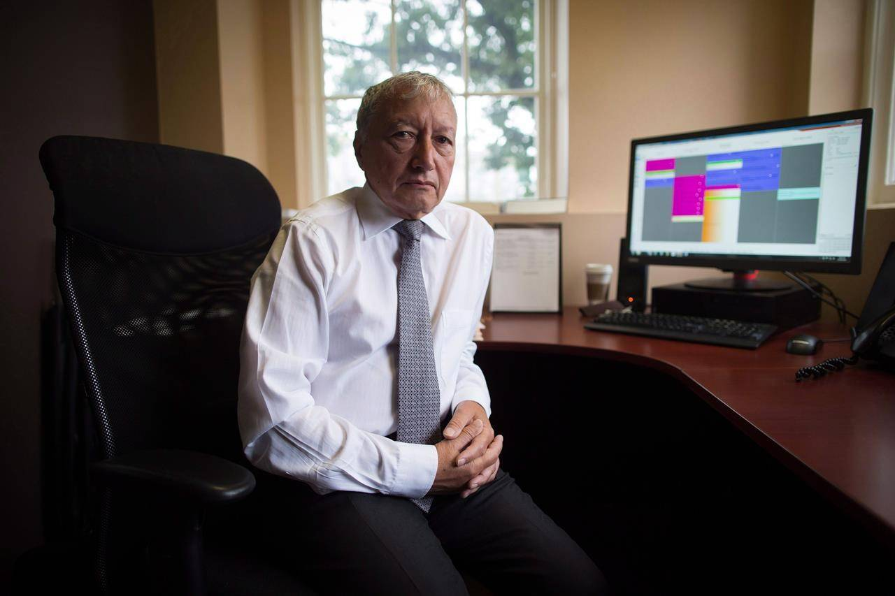 Dr. Brian Day, Medical Director of the Cambie Surgery Centre, sits for a photograph at his office in Vancouver on Aug. 31, 2016. A lawsuit that begins today in B.C. Supreme Court in Vancouver has the potential to fundamentally change the way Canadians access health care. Day, who operates a private surgical centre in Vancouver, is challenging B.C.'s ban on Canadians buying private insurance for medically necessary services already covered by medicare. (THE CANADIAN PRESS/Darryl Dyck)