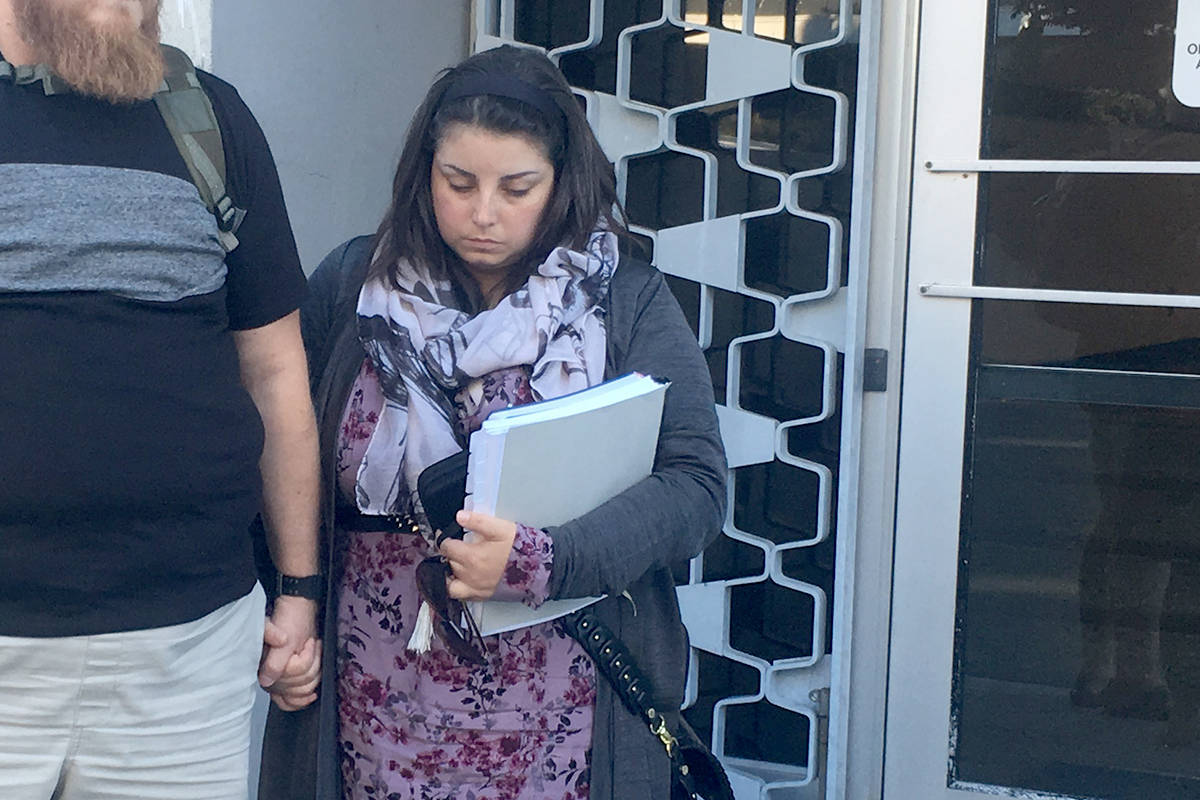 Victoria woman Kaela Janine Mehl is appealing her conviction in the murder of her 18-month-old daughter with the allegation that one of the jurors in the trial was biased against her. (Lauren Boothby/VICTORIA NEWS)