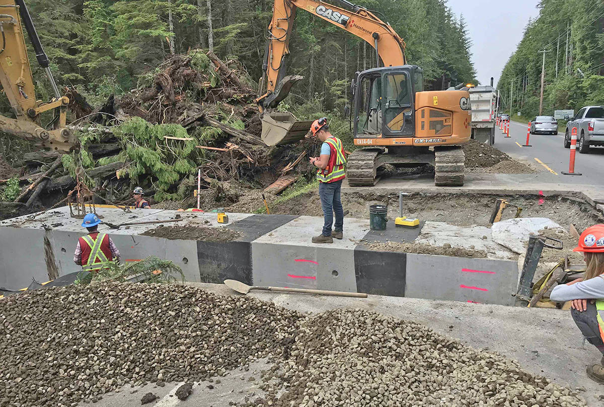 The Pacific Rim National Park Reserve installed three new tunnels under the highway between Tofino and Ucluelet to help prevent roadkill incidents and connect important amphibians and other wildlife to their wetland and forest habitats. (Barb Beasley photo)