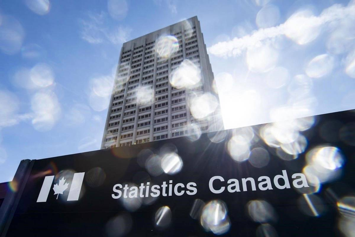 Statistics Canada says the national gross domestic product fell 11.6 per cent in April, in a June 30, 2020 story. (Photo by THE CANADIAN PRESS)