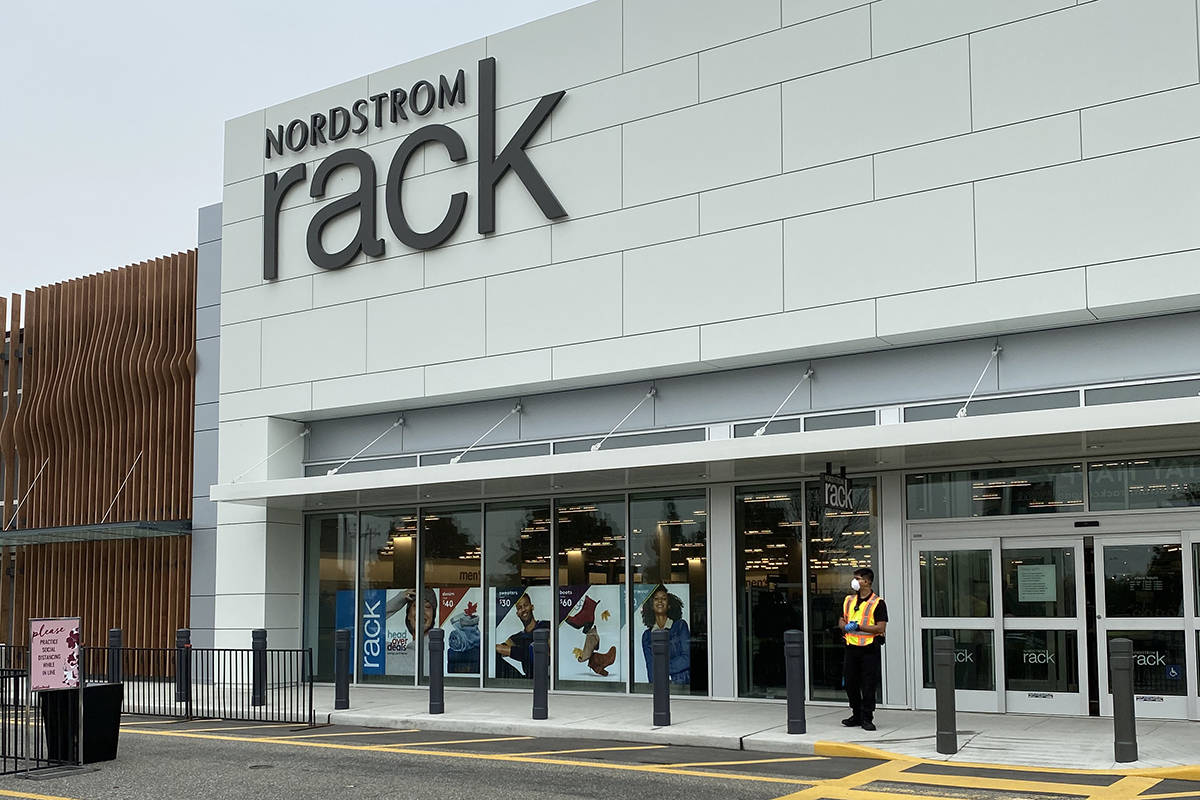 Nordstrom Rack in Langley will open its doors to the public Sept. 17, 2020. (Joti Grewal/Langley Advance Times)