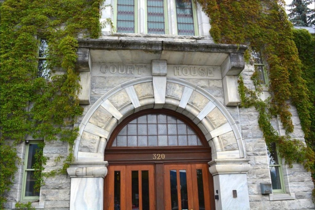 The trial will take place at the Nelson Courthouse.Photo: Bill Metcalfe
