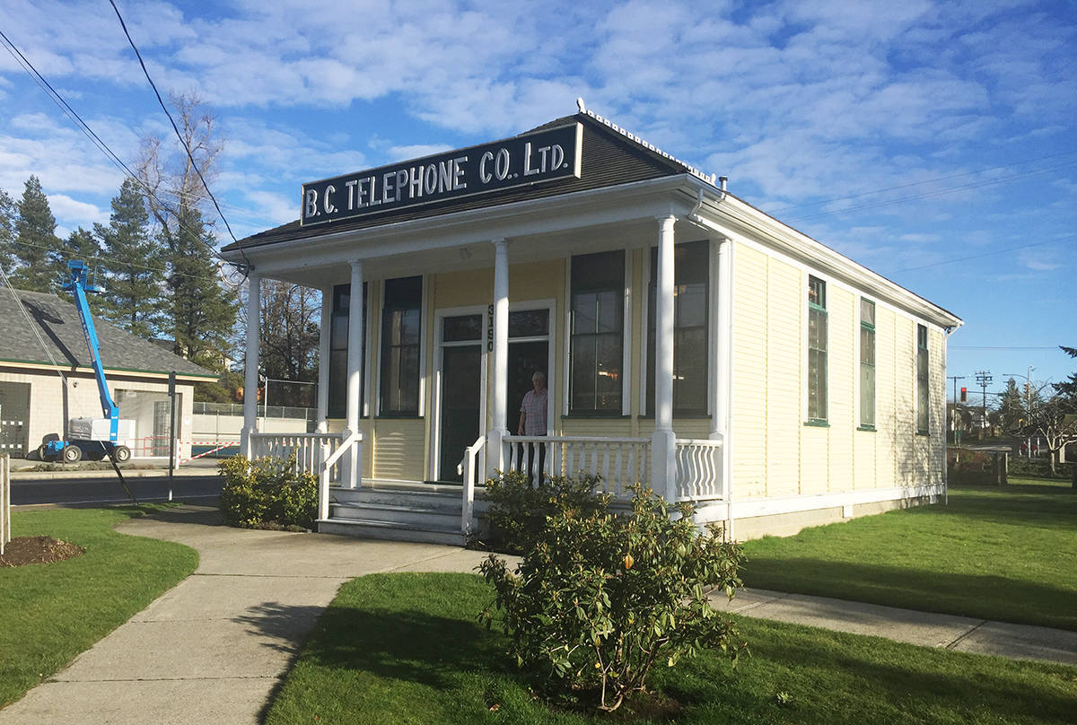 Alder Grove Heritage Society Telephone Museum and Community Archives. (Aldergrove Star files)