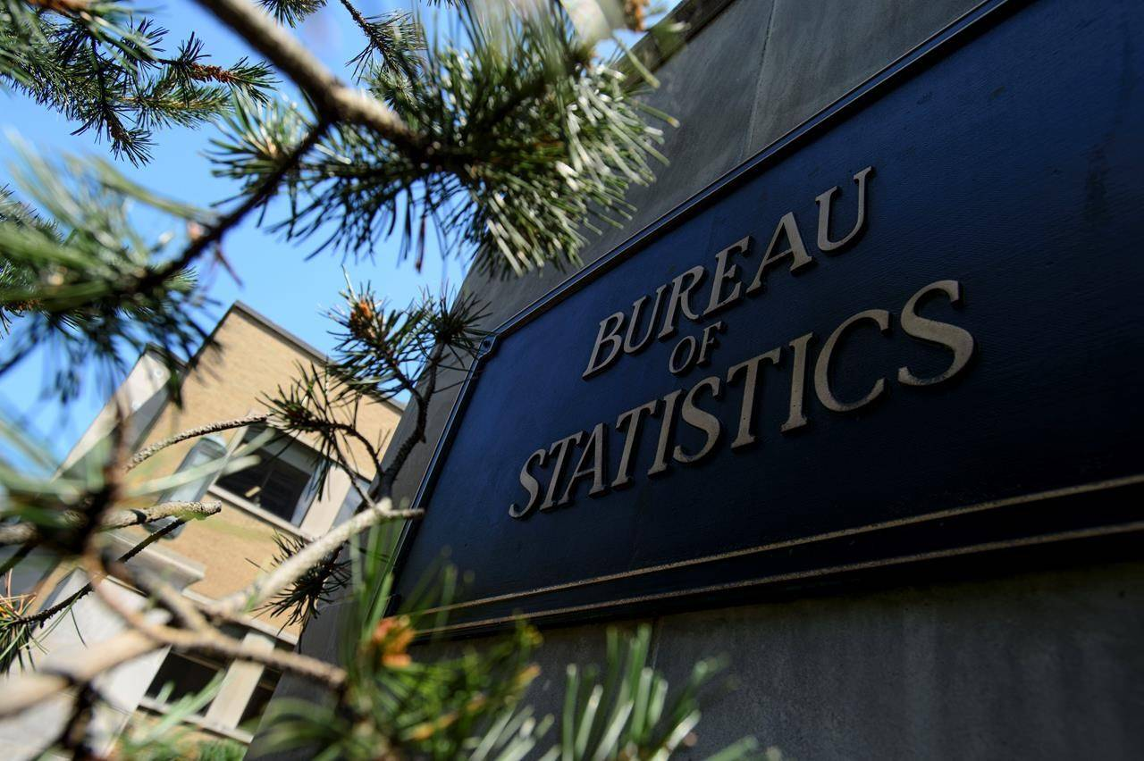 Statistics Canada building and signs are pictured in Ottawa on Wednesday, July 3, 2019. Statistics Canada will reveal today how the country's official measure of inflation fared in August with expectations for another month of near-zero readings. THE CANADIAN PRESS/Sean Kilpatrick