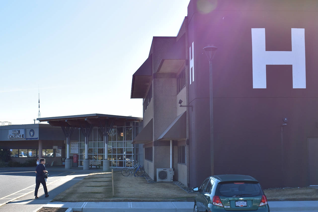 Fraser Health declared an outbreak of COVID-19 at Delta Hospital Wednesday afternoon (Sept. 16). (Grace Kennedy photo)