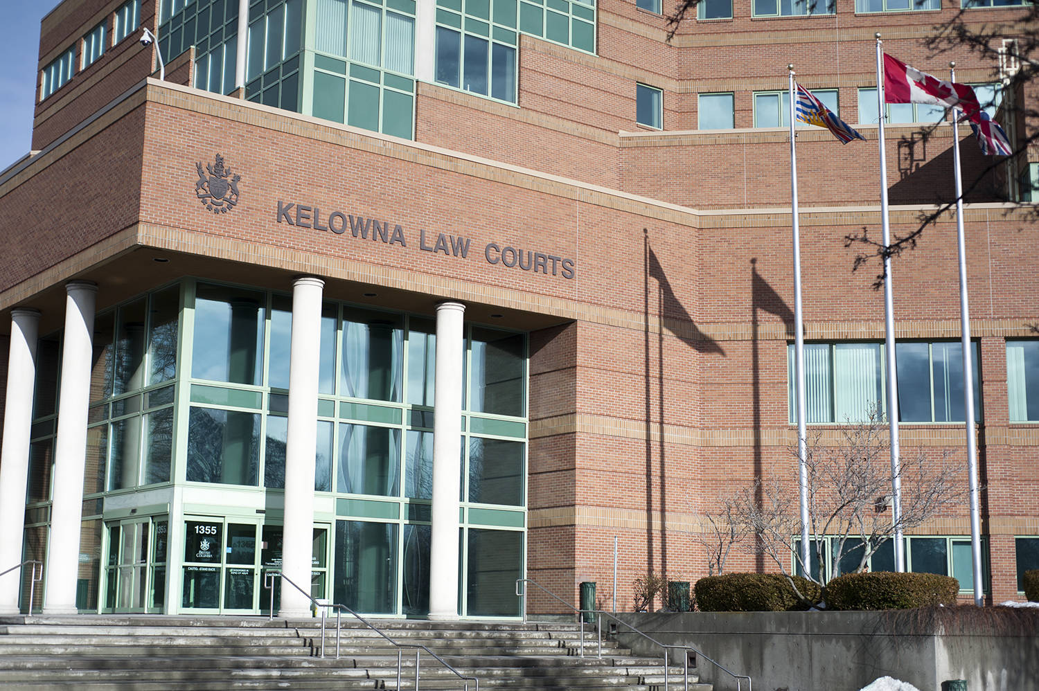 Kelowna Law Courts. (Michael Rodriguez - Capital News)