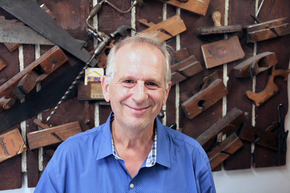 Paul Orazietti, executive director for the Cloverdale BIA, is seen on Sept. 17, 2020. (Photo: Malin Jordan)