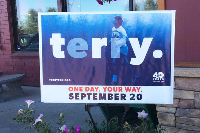 This year's 40th Terry Fox Run is a virtual event on Sept. 20. (Black Press Media files)