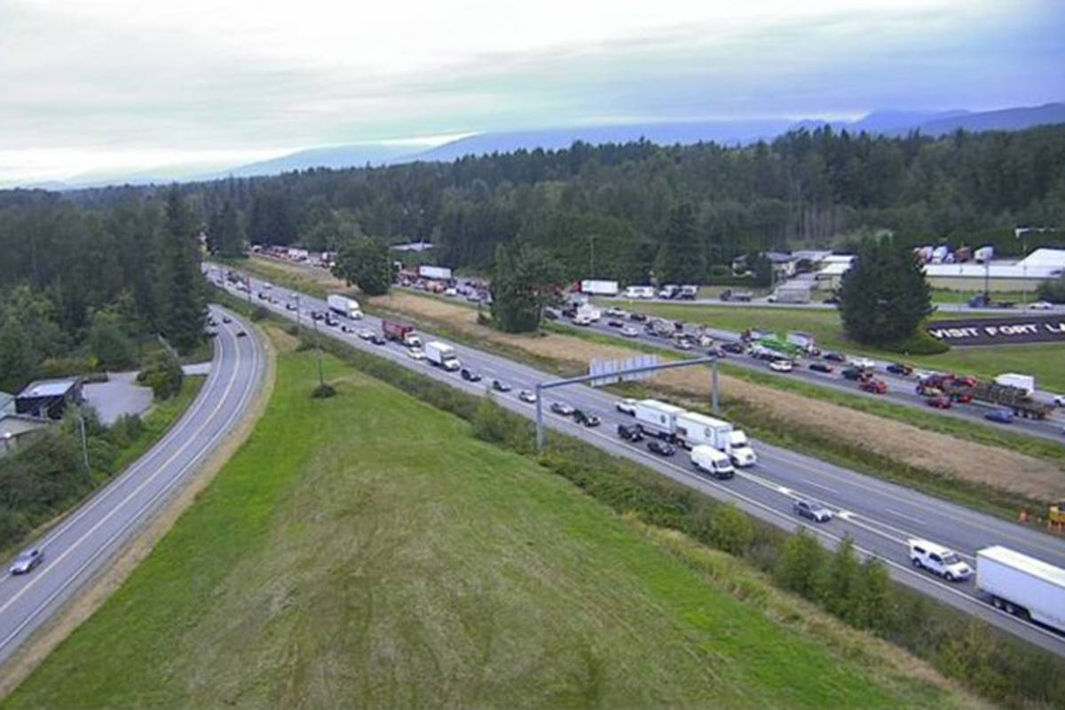 Highway One will be widened to six lanes between 216th Street and 264th Street in Langley. (Black Press Media files)