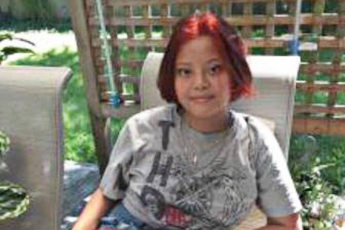 Tracey Clemente, 14, was last seen early Monday, Sept. 21. (Langley RCMP photo)