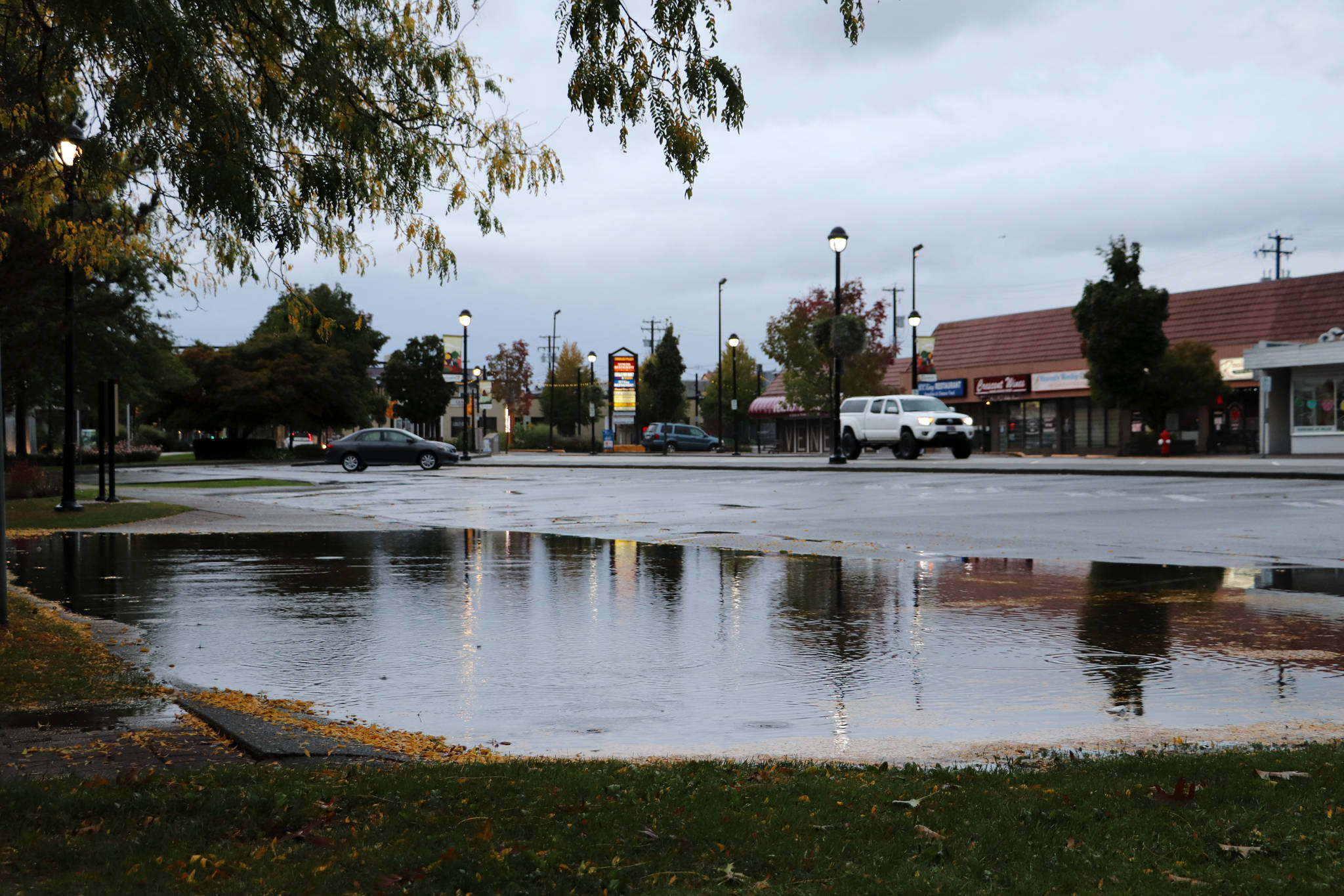 The first storm of the fall season moves through Langley on Sept. 24, 2020. (Joti Grewal/Langley Advance Times)