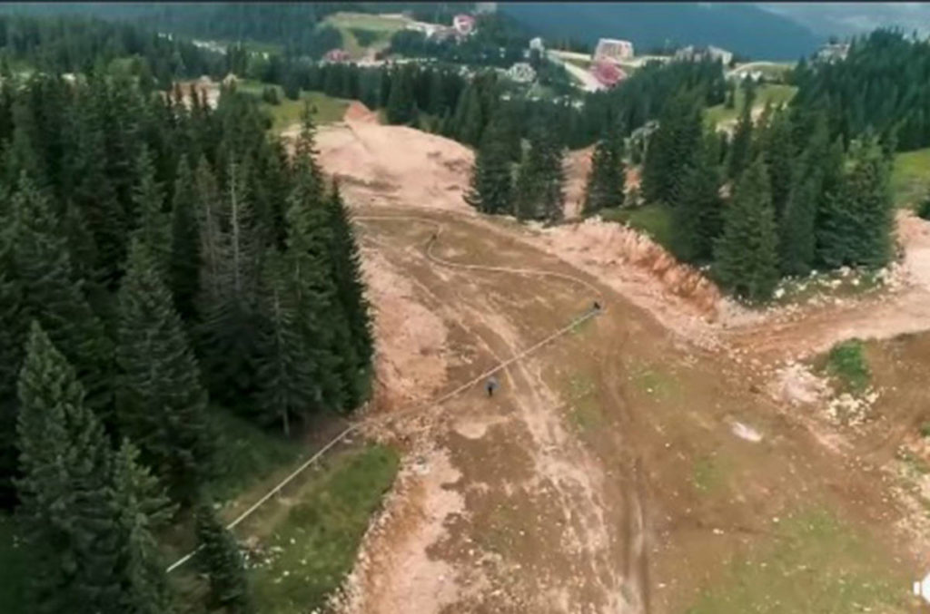 Cypress Mountain Resort has announced a new 'Mountain Coaster' ride (Cypress Mountain Resort screenshot)