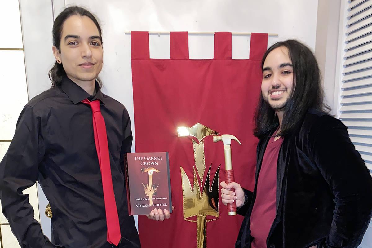 Transgender B.C. brothers debut fantasy novel as author duo Vincent Hunter