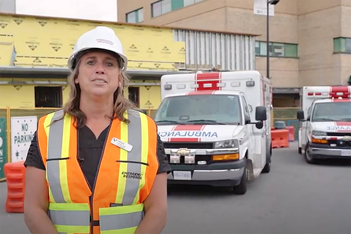 VIDEO: Construction progressing on Langley Memorial Hospital ER