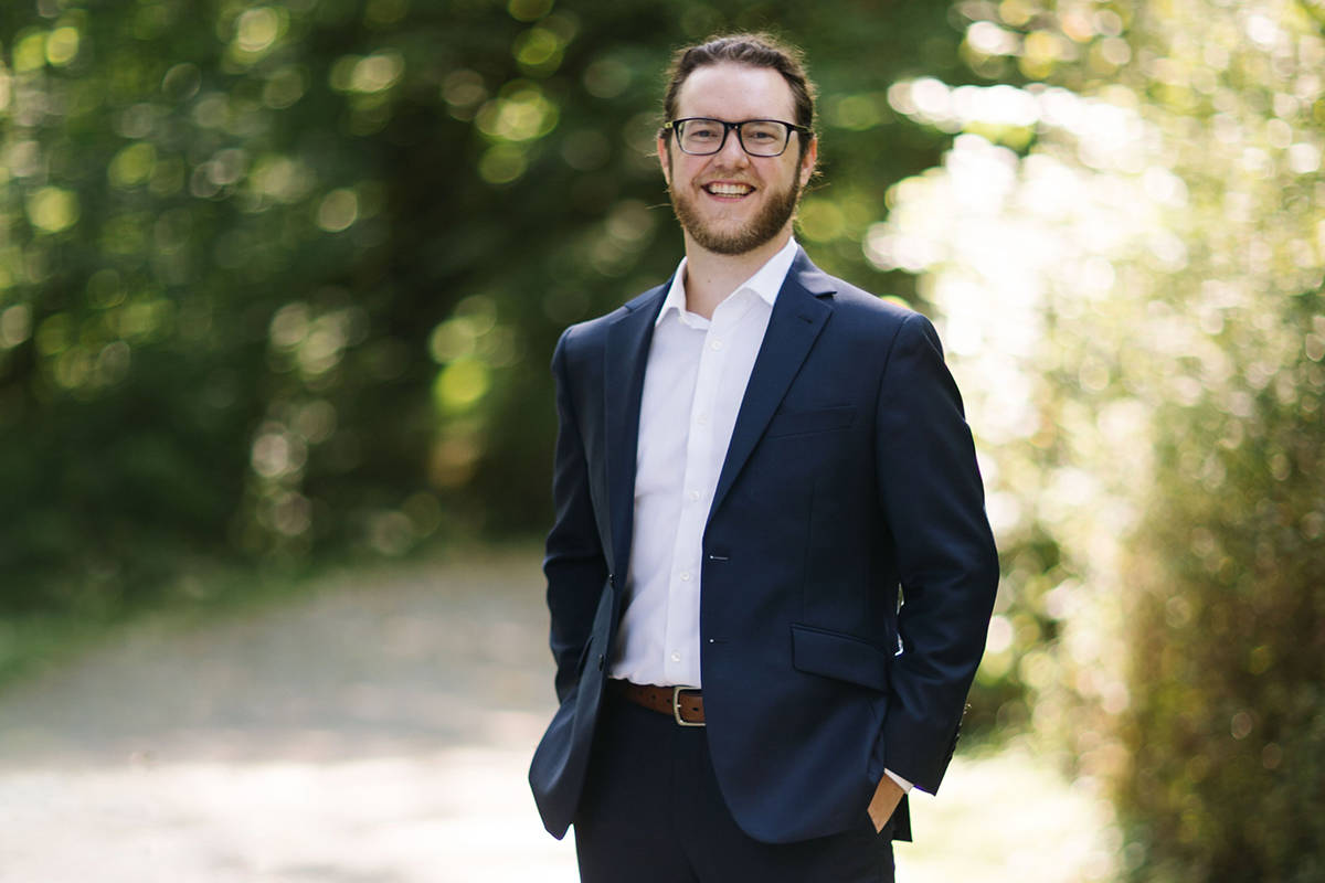 Rob Workman, Trinity Western University alumnus, is a tenor who was recently selected to join the Vancouver Chamber Choir (VCC), one of Canada's top professional choral ensembles.(Special to Langley Advance Times)