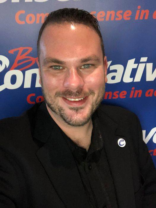 Ryan Warawa will run for the BC Conservative Party in Langley East (Special to Langley Advance Times)