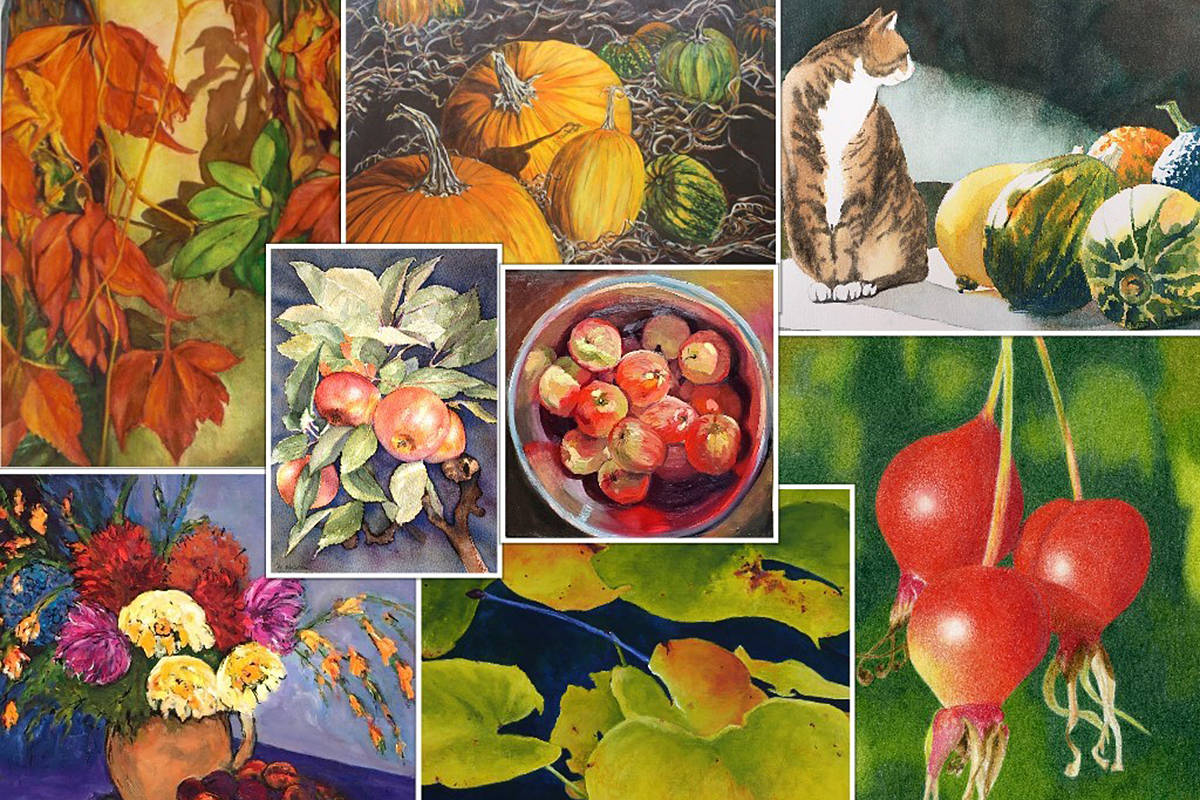 Fort Langley Artists Group has its last show on display now, online. (Special to Langley Advance Times)