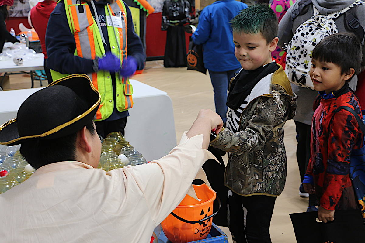 More than 1,000 parents and kids attended Halloween Fest 2019 that all the candy was gobbled up by the end of the night. (Jenna Cocullo / The Northern View)