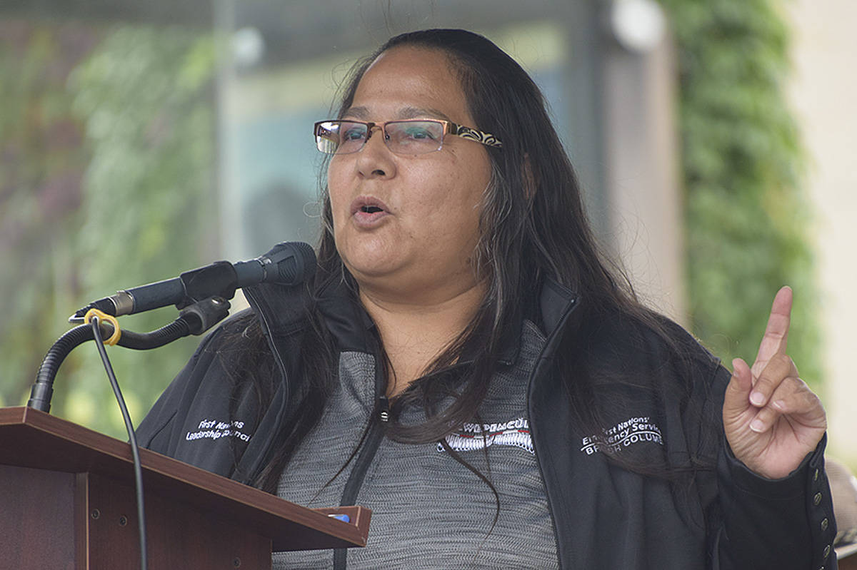 Kukpi7 Judy Wilson of the Union of BC Indian Chiefs is among Indigenous leaders and organizations that have pushed for a thorough investigation into the death of a First Nations youth in an Abbotsford group home. (Black Press file photo)