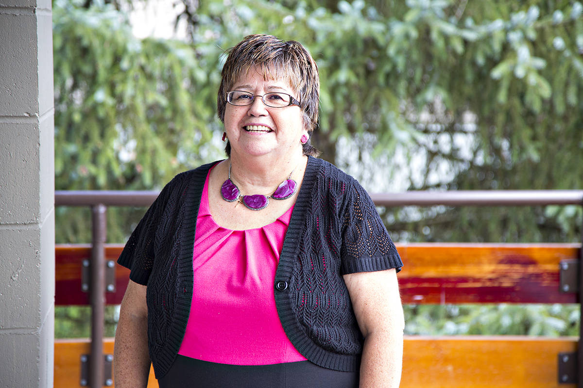 Patti Victor, Trinity Western University professor and Indigenous Elder, recalls when the school community took part in the public hearings that preceded the Truth and Reconciliation Commission of Canada's final report making 94 calls to action. (Trinity Western University/Special to Langley Advance Times)