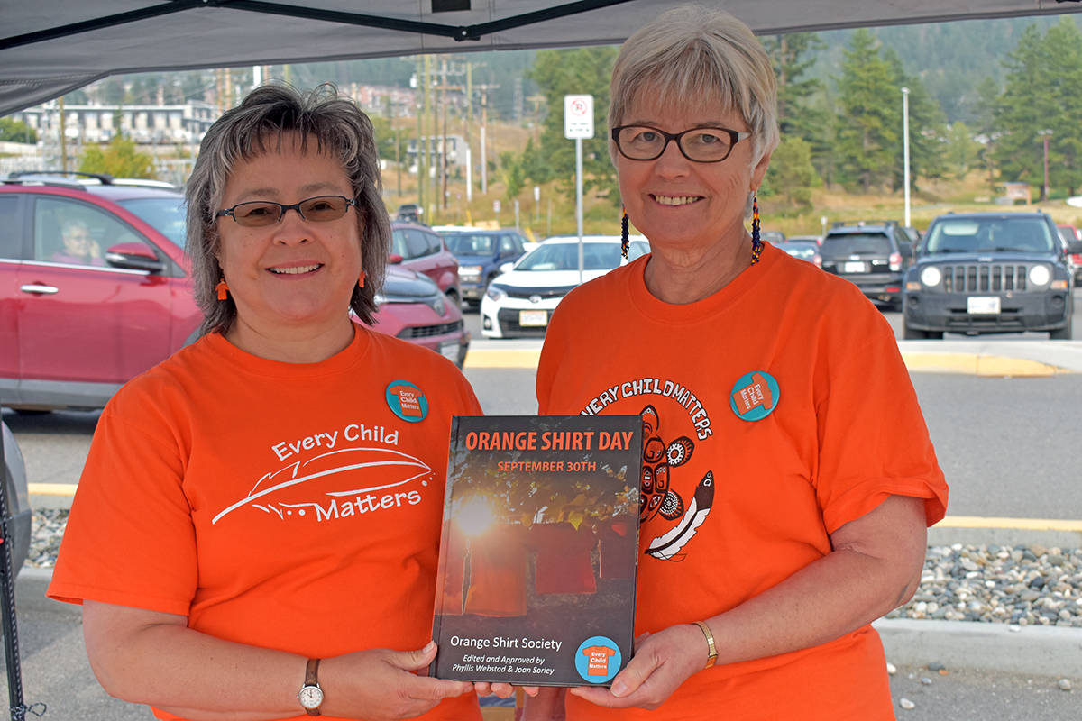 The Orange Shirt Day textbook can be purchased online through Medicine Wheel Education, Amazon and Chapters Indigo. In Williams Lake, it can also be purchased at the Open Book. The Orange Shirt Society will receive 15 per cent from the sale of each book.