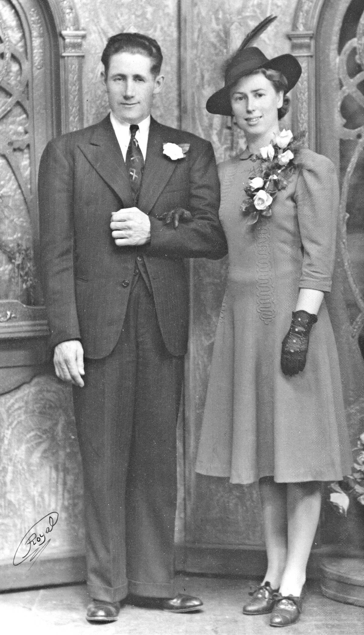 Bill and Mary Davies. (family photo)