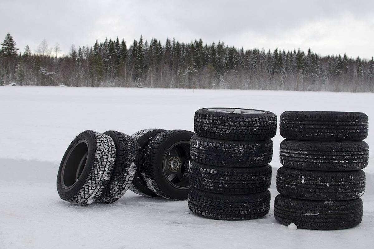 With winter approaching, cars need to have winter tires from Oct. 1 until Nov. 30. The minimum requirement calls for at least two matching winter tires on a vehicle's drive axle but recommends a matching set on all wheels. (File photo)