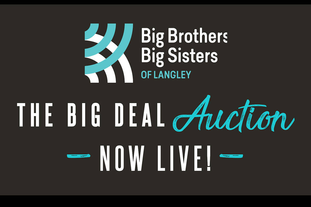 Langley's Big Brothers Big Sisters group hosting auction now