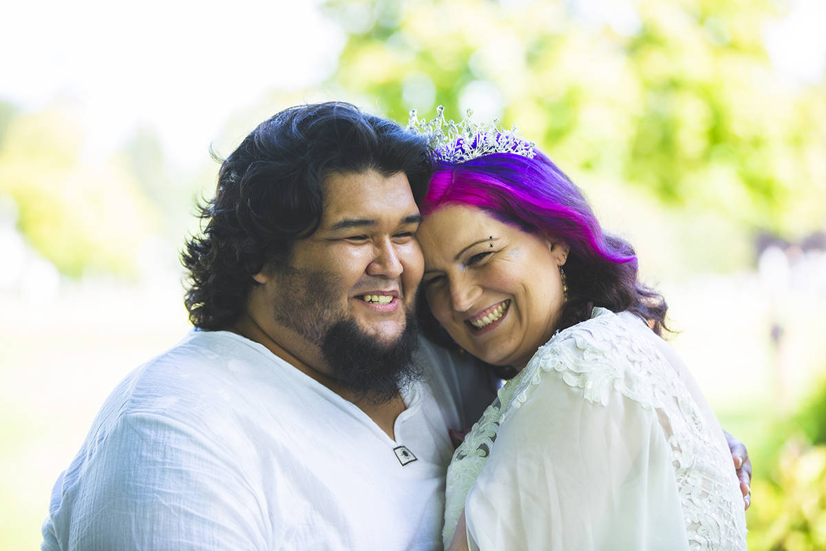 Daniel Frausto married Maple Ridge's Elizabeth Rodriguez at a small ceremony in Peace Arch Park. (Studio 76 Photography - Special to The News)