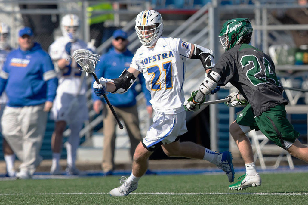 Dylan McIntosh of Pitt Meadows will be a captain with his university team this season. (Hofstra University)