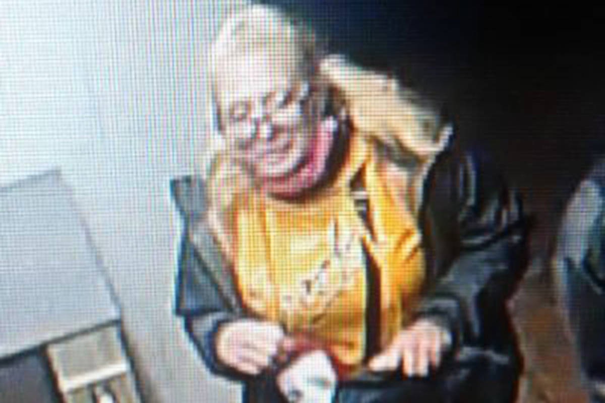 This woman is a suspect in an incident involving a stolen credit card. (Langley RCMP)