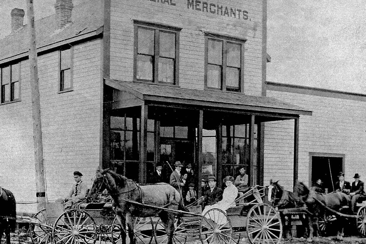 Smith Parr General Store was operated by Charles Smith and his uncle, Henry Parr. (Alder Heritage Society/Special to The Star)