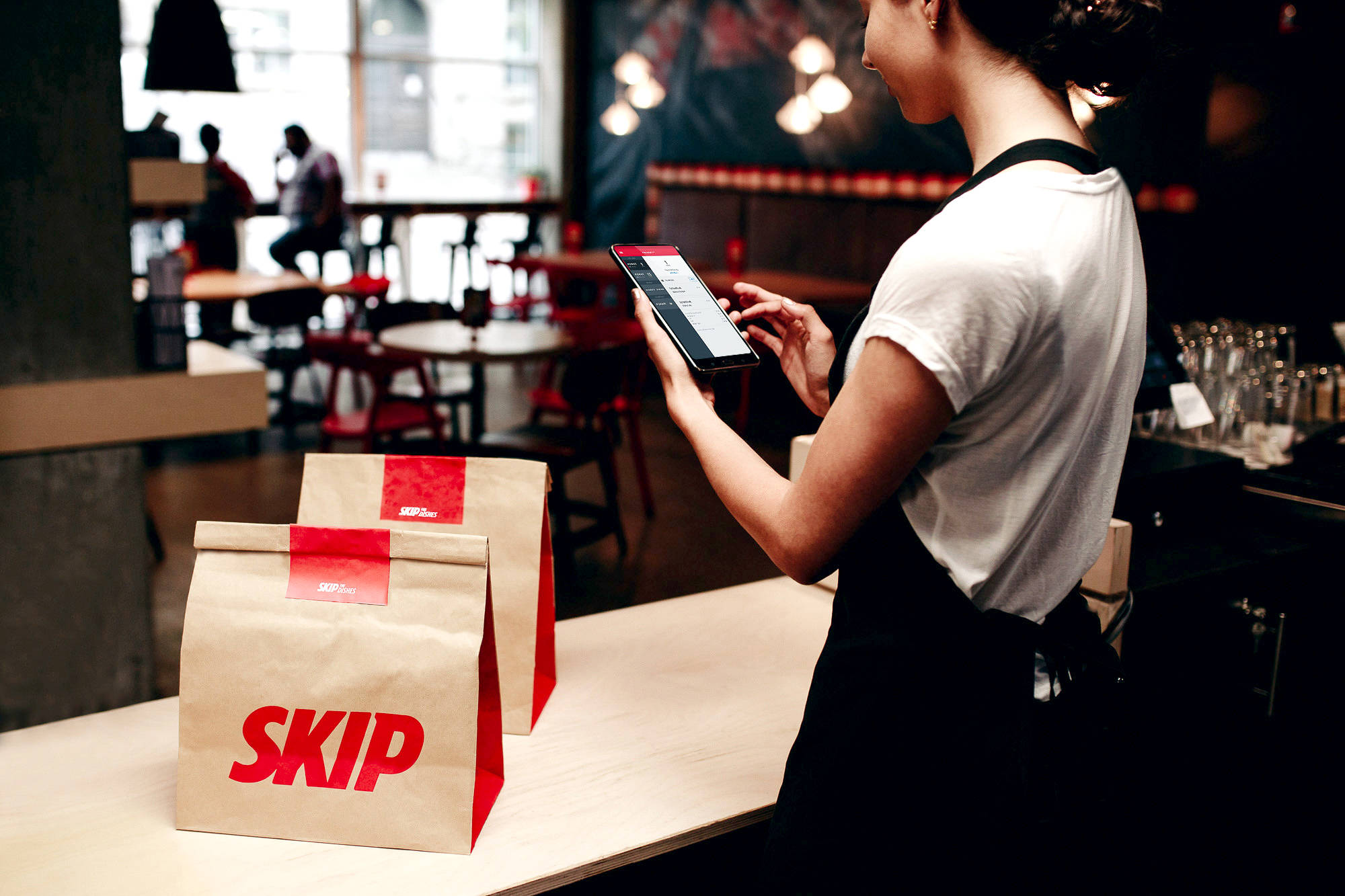 Skip The Dishes, Doordash, Uber Eats and other delivery services have grown their business significantly as restaurants have adapted to COVID-19 restrictions. (Skip The Dishes photo)