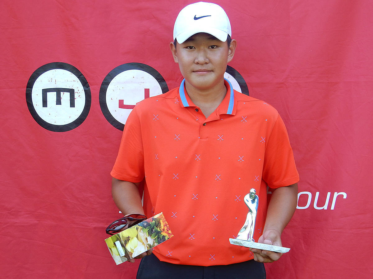 Langley golfer Danny Im has had a good season (file)