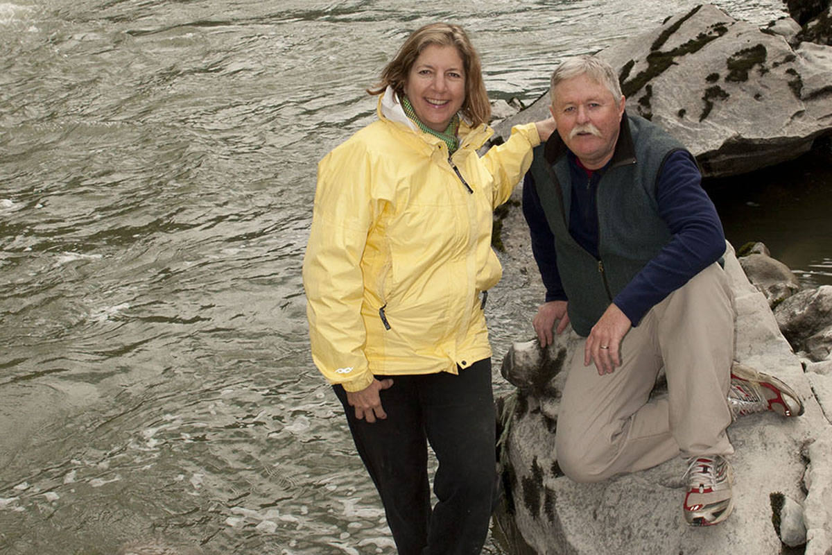 Carol and Rick Blacklaws have distilled years of experience travelling the Fraser River into their latest book. Contributed photo.