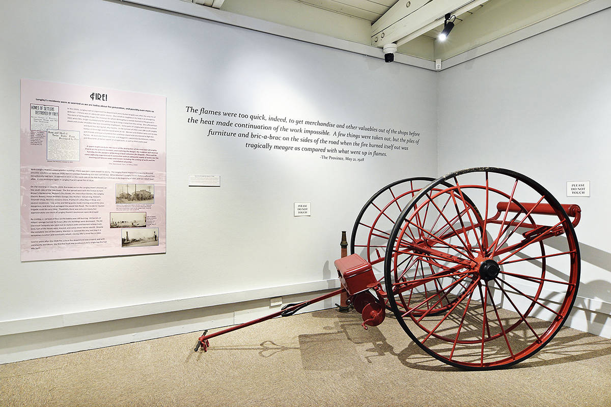"Langley Centennial Museum's latest exhibition, ""Roaring! Langley in the 1920s"" can currently be visited virtually (Special to Langley Advance Times)"