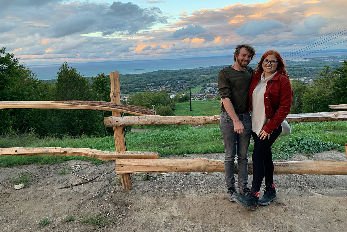Brian Mcgonagle and Lily Burgess have been trying to move to Revelstoke for months. (Submitted)