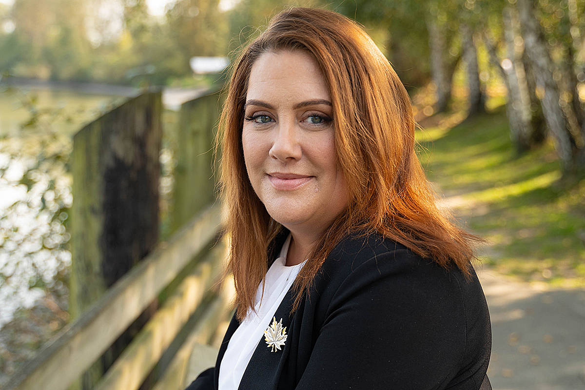 Megan Dykeman has declared as the NDP candidate for Langley East in the Oct. 24 provincial election. (Special to Langley Advance Times)