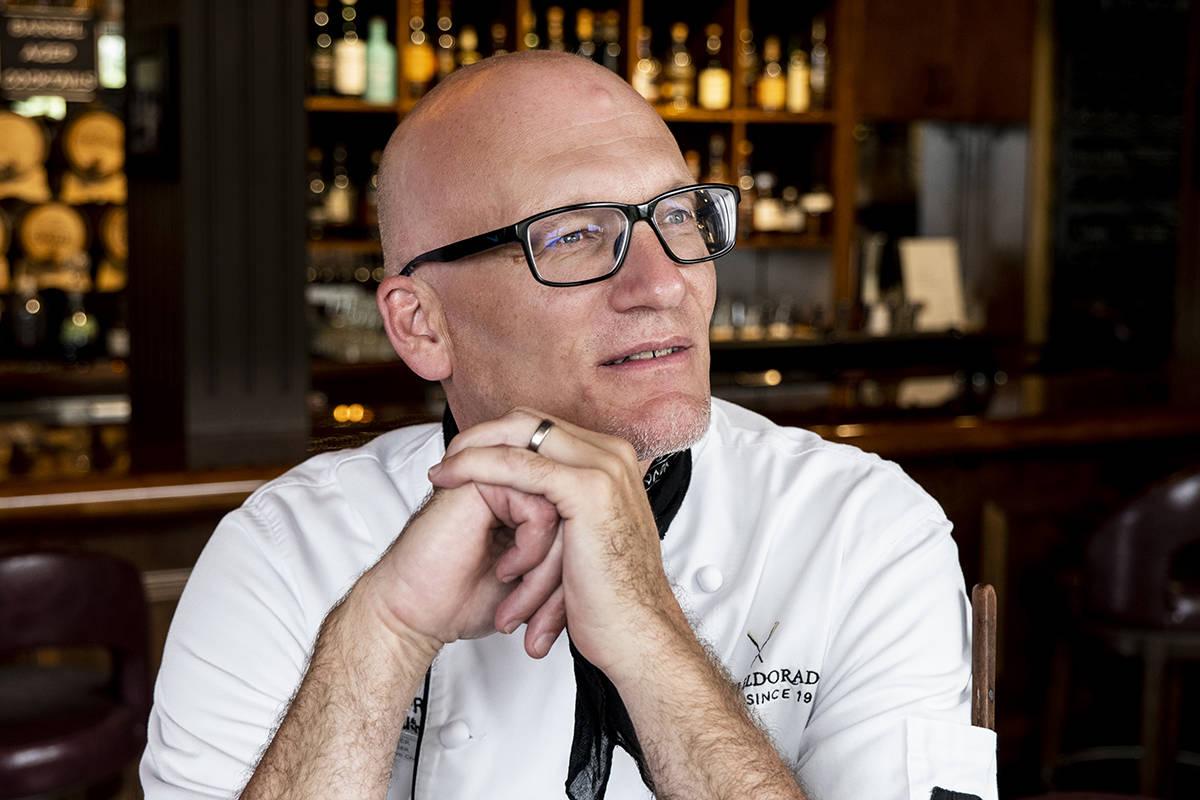 Hotel Eldorado chef Oliver Kaiser. (Lia Crowe)