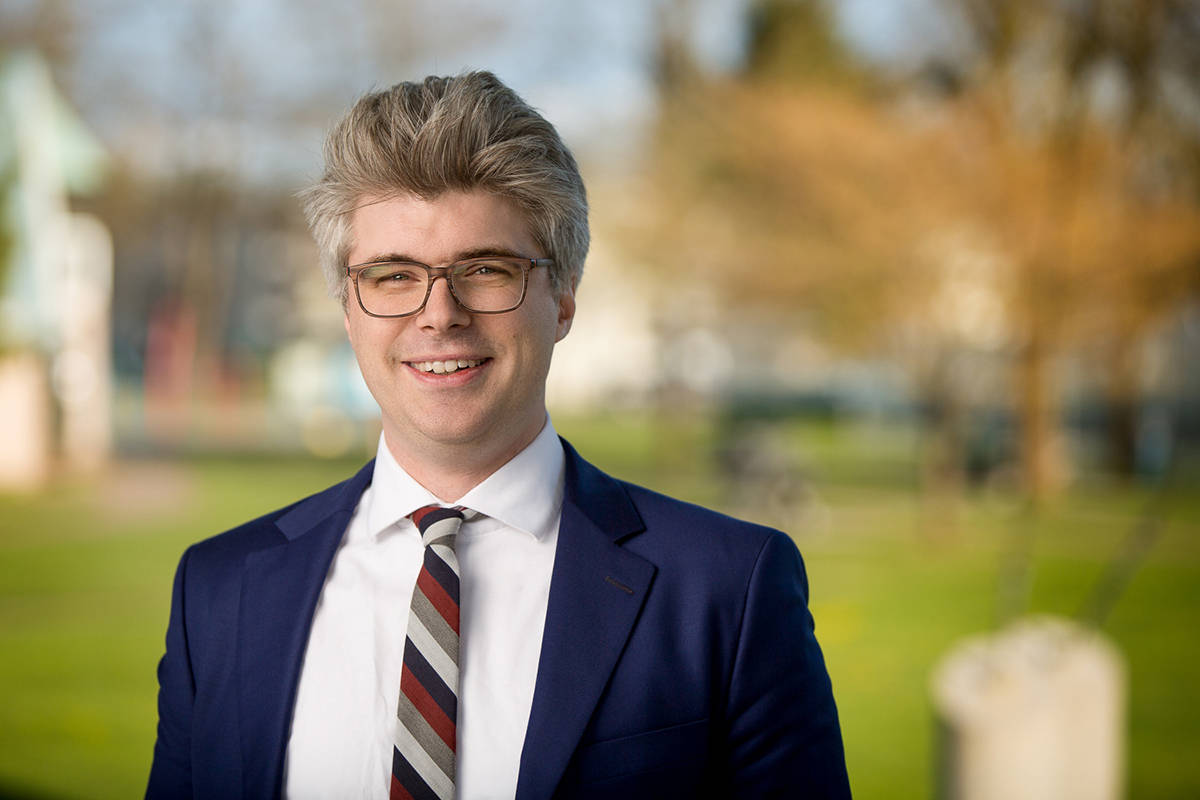 Andrew Mercier is running for the NDP in the Langley East riding. (Andrew Mercier/Special to the Langley Advance Times)