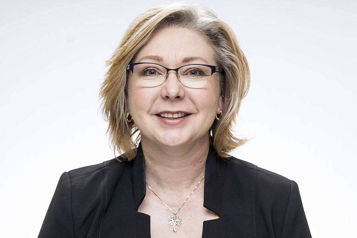 Mary Polak, Langley Liberal candidate. (Photography by John Lehmann/Special to the Langley Advance Times)