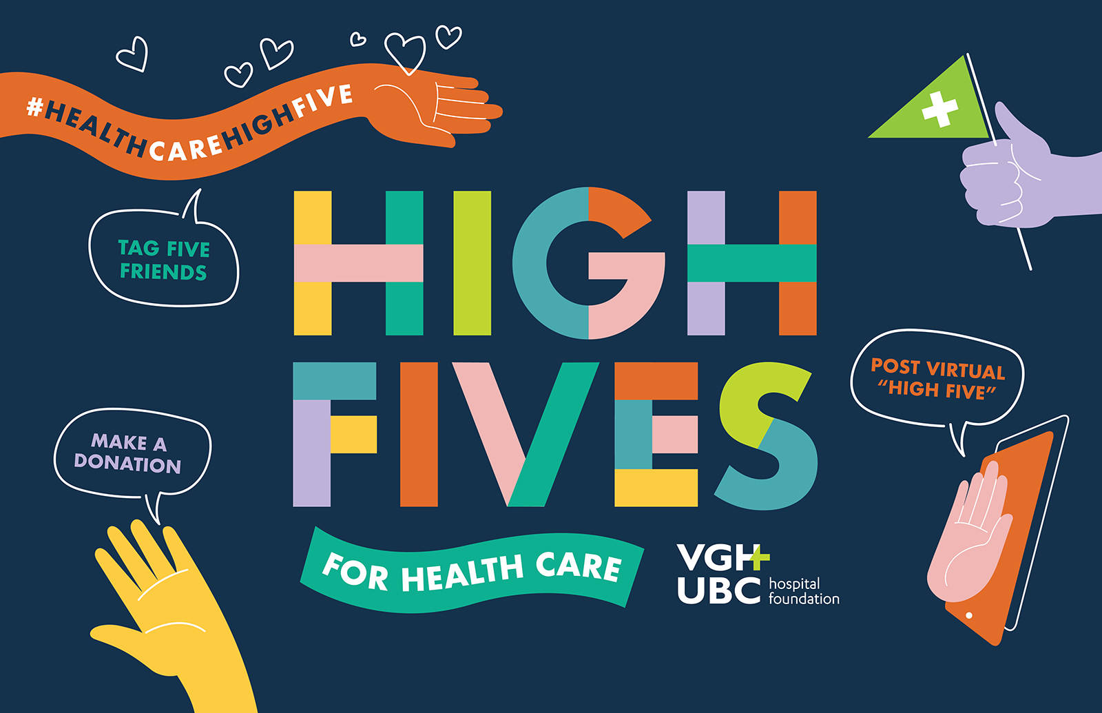 VGH-UBC High Fives for Health Care