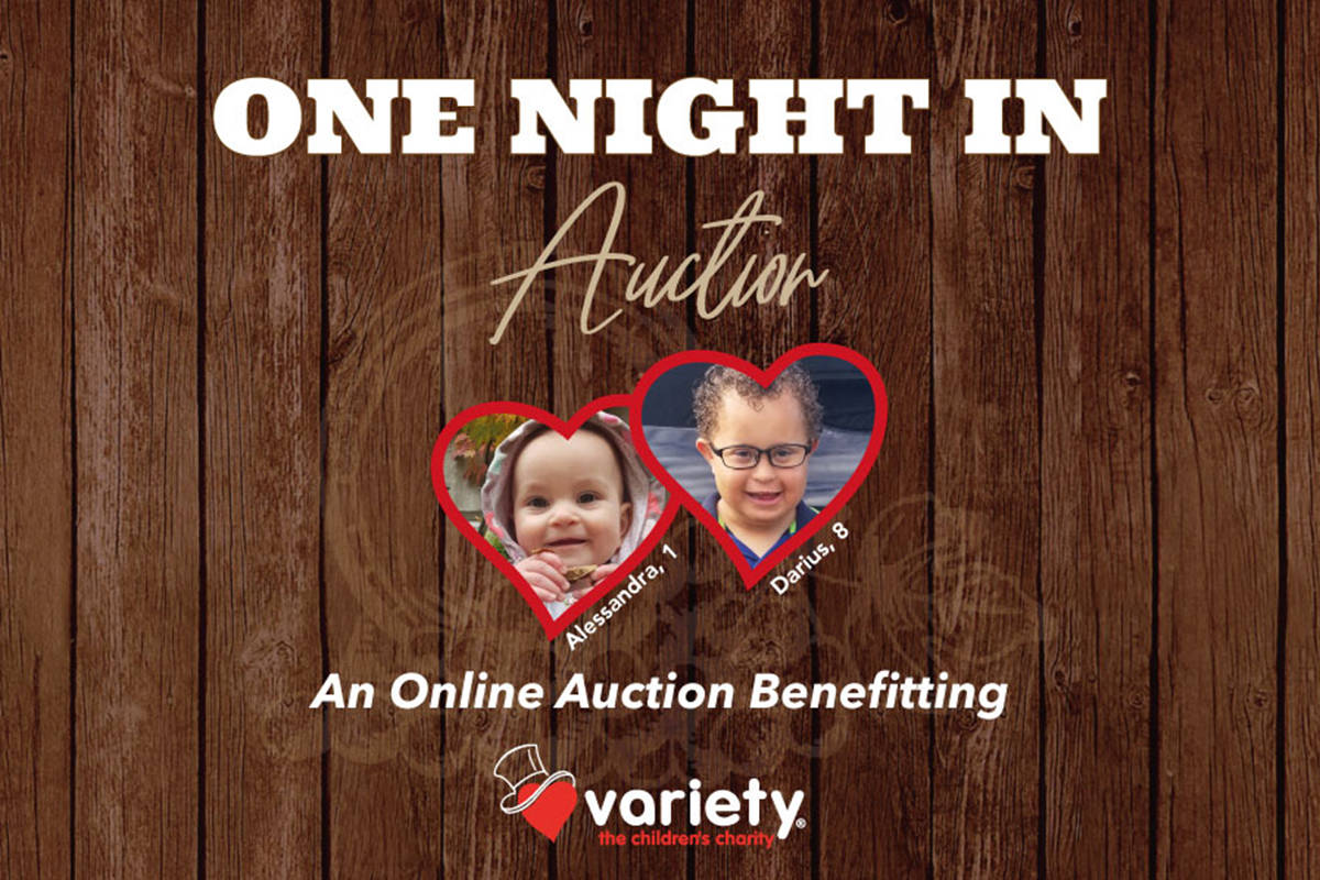 One Night In Auction hosted by Variety BC. (Variety BC/Special to The Star)