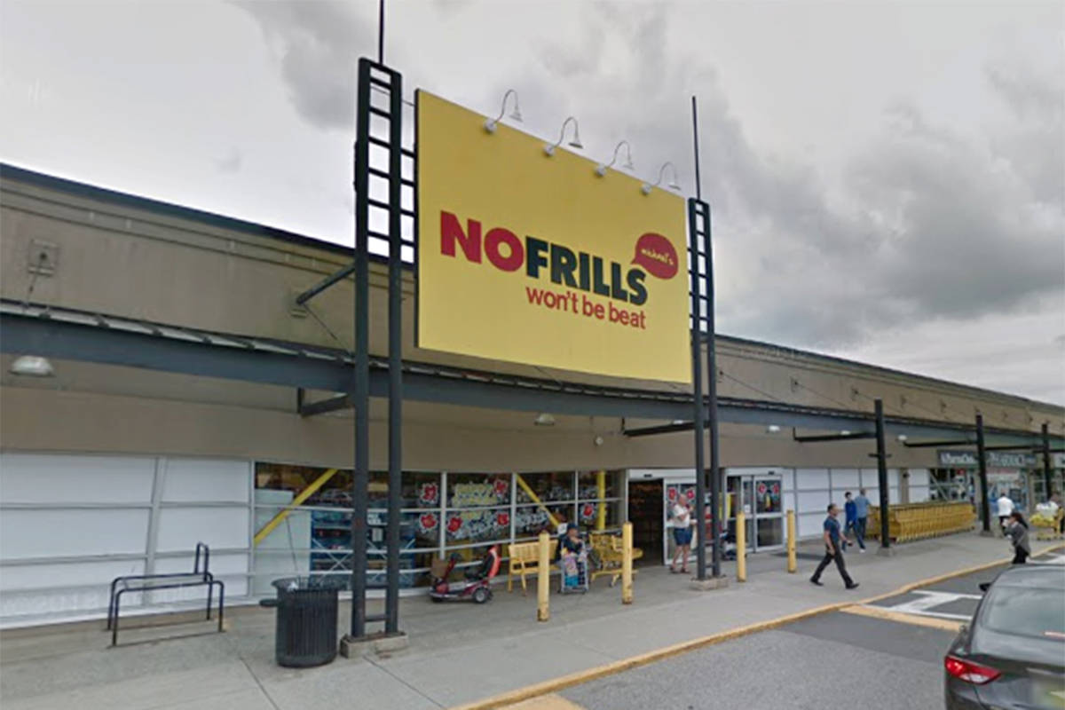 On Oct. 18, 2020 Loblaws Canada reported an employee tested positive for COVID-19 at Micheal's No Frills in Langley. (Google)