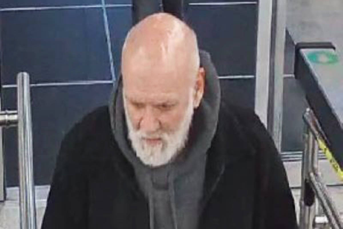 This man allegedly stole boots from the Otter Co-Op. (Langley RCMP/Special to the Langley Advance Times)