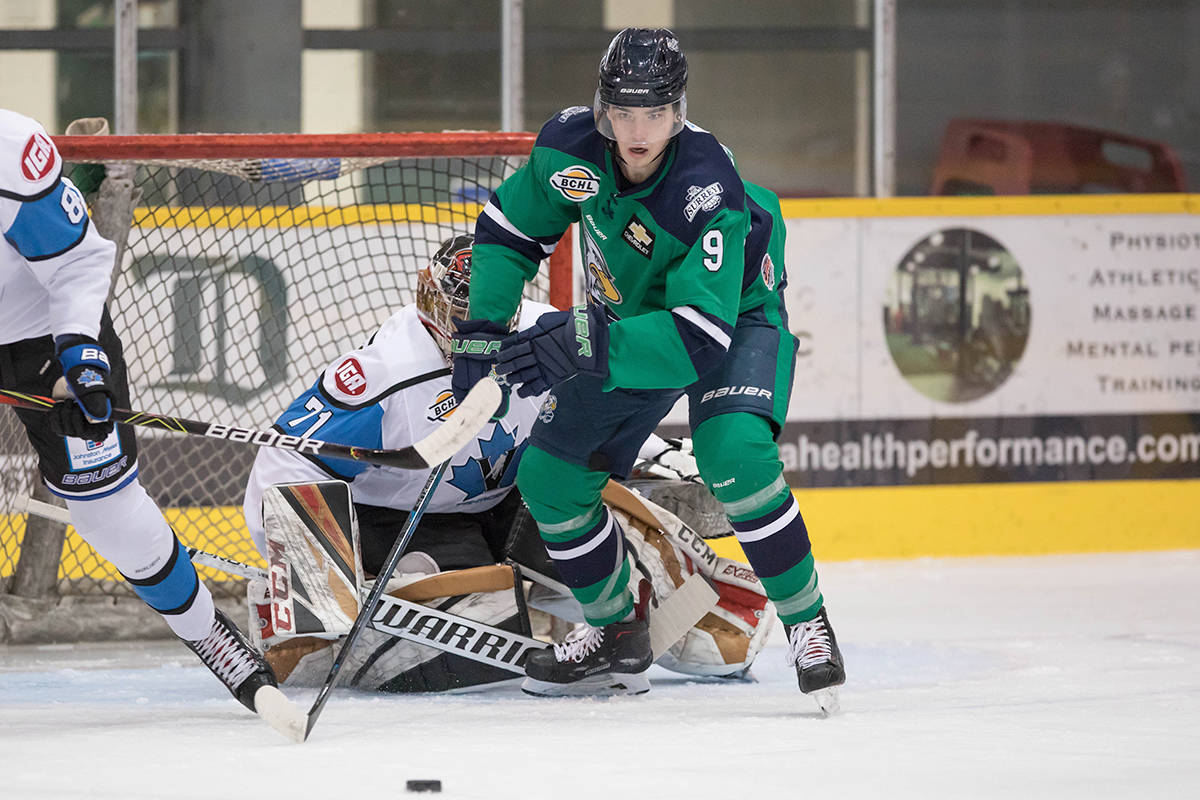 The Surrey Eagles are currently seeking billet families for its players in advance of the 2020-'21 BC Hockey League season. (Garrett James photo)