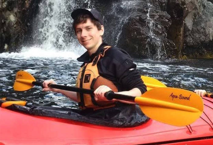 Jordan Naterer, an electrical engineer from Vancouver, was last seen Saturday Oct. 10. (Facebook photo)