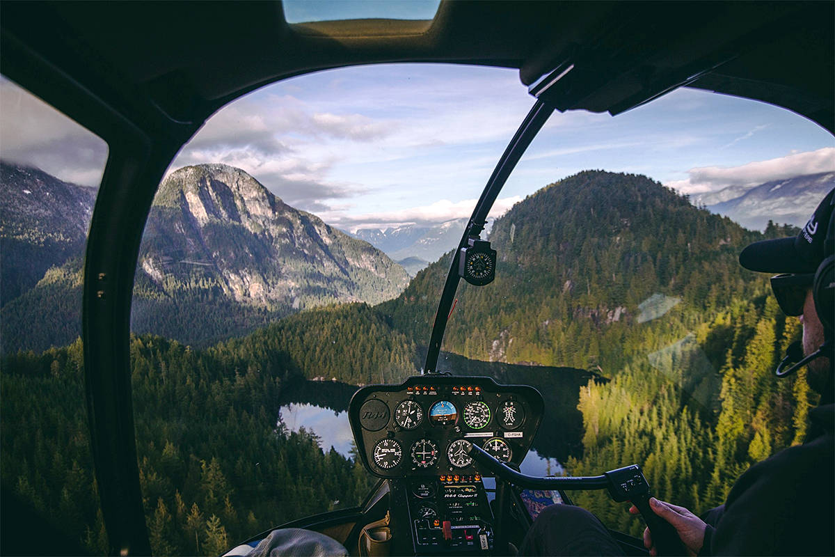 SKY Helicopters in Pitt Meadows, run by Langley's Andrew Westlund, has been recognized globally among travellers for its aviation-based adventure and sightseeing experiences. (SKY Helicopters/Special to Black Press Media)