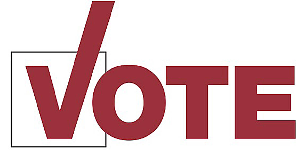 If you didn't vote by mail, or at the advance polls, we hope you get out Saturday to cast your ballot in the 2020 provincial election. (Black Press Media files)