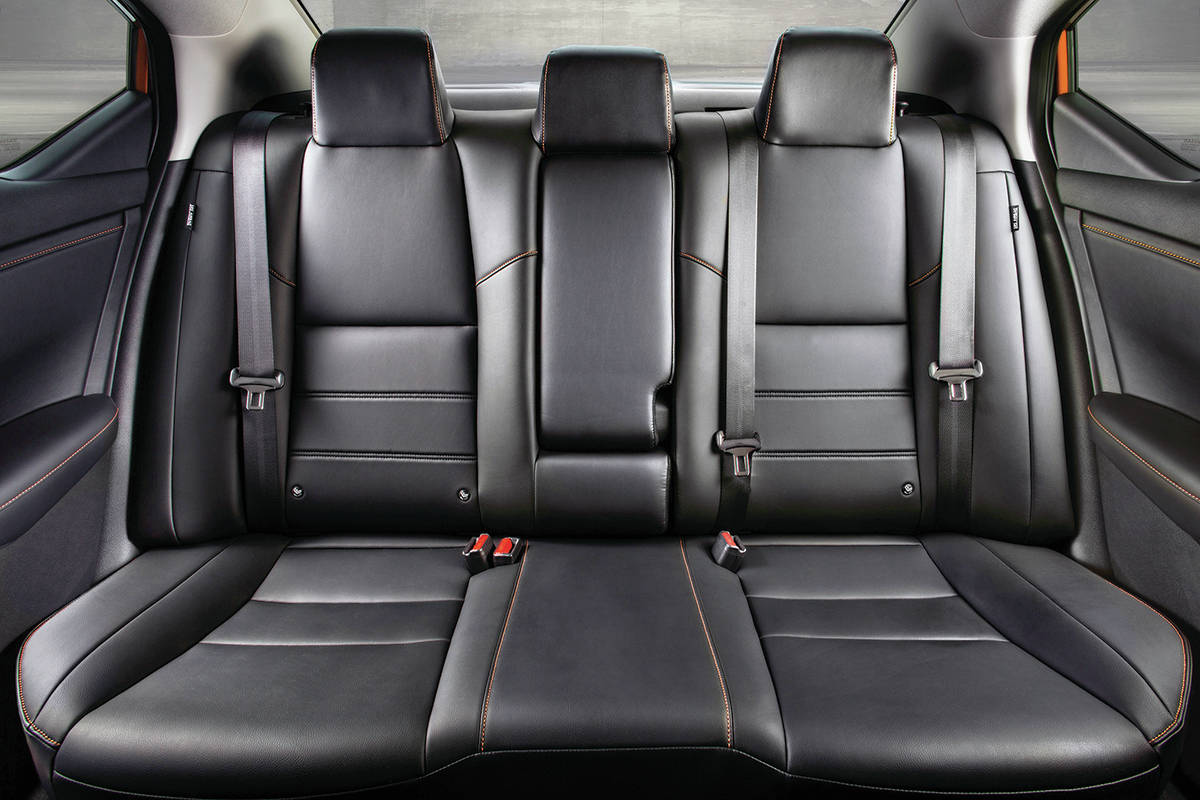 Most automakers have upped their interior games, which is the case with the new Sentra. Along with modern displays and connectivity, there's a flat-bottom steering wheel and Zero Gravity seats. PHOTO: NISSAN